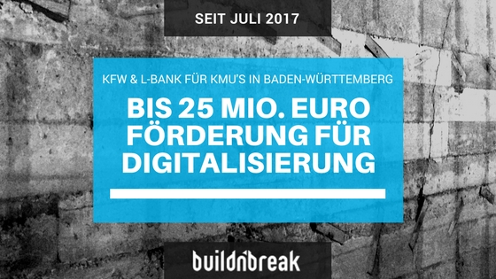 ERP Digitalisierungskredit und Innovationskredit